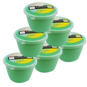 Green Pudding Basins 1/4 Pint