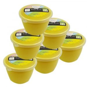 1/4 Pint Yellow Pudding Basins