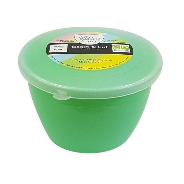 1/2 Pint Green Pudding Basin