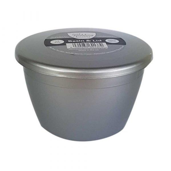 1/2 Pint Silver Pudding Basin