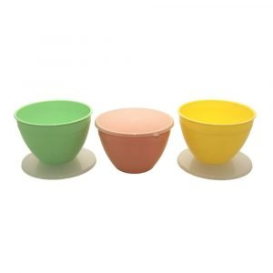 Pudding Basins in 3 Spring Colours