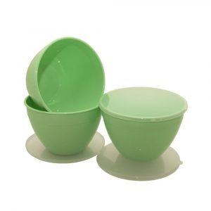 Green 3 Pint Pudding Basins