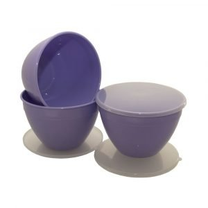 3 Pint Lilac Pudding Basins