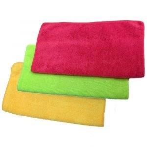 Microfibre Cloths x3