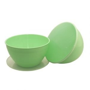 Green Pudding Basin 4 Pint Multipack of 2