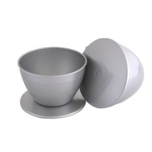 4 Pint Large Pudding Basin and Lid Multipack of 2