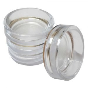 Clear Castor Cups