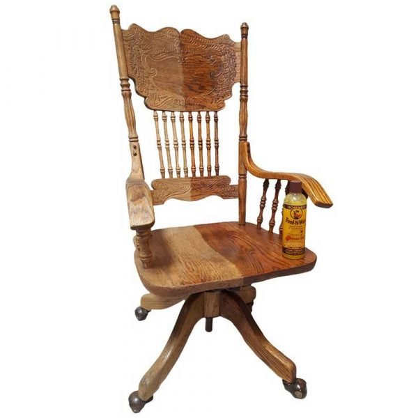 Feed N wax Wooden Chairs