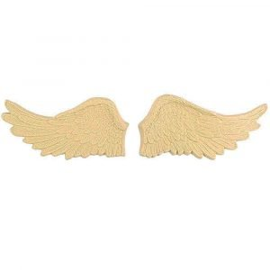 Pair of Wings Wooden Moulding