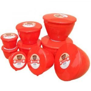 Santas Trio 9 Pudding Basins 3 of 3 Sizes