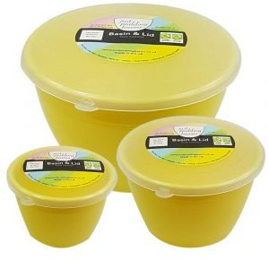 Yellow Pudding Basin Set